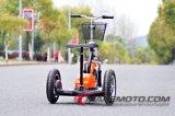 80kmのZappy 3つの車輪の電気スクーターを鳴らした
