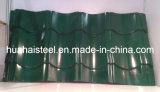 Chapa de aço galvanizada telhadura muitas cores