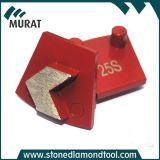 Werkmaster 기계를 위한 단 하나 세그먼트 다이아몬드 금속 지면 패드