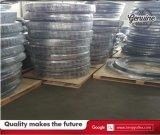 Boyau hydraulique tressé résistant de la fibre SAE 100r6 de pétrole un