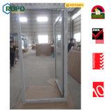 프랑스 여닫이 창 PVC/UPVC 문을 이중 유리를 끼우는 단 하나 오프닝
