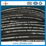 Tubo flessibile di gomma ad alta pressione dell'olio del tubo flessibile di Hydralic