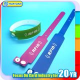 Ticketing MIFARE Ultraligero elegante ABS / PVC RFID Desechable pulsera
