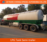 56000liters LPG Полуприцеп-цистерна Asme Стандартный 56000L LPG Цистерна Полуприцеп