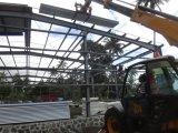 Aprisa instalar el edificio del almacén de la estructura de acero