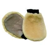 Handschoen van de Ontsmetting van de Wol van de schapehuid de Warme Oppoetsende