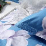 1800熱い販売のブラシをかけられた可逆敷布の羽毛布団カバー