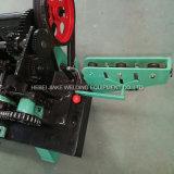 電流を通された二重繊維の有刺鉄線機械