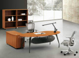 Luxury Melamine Executive Office Desk Set Manager Table (HF-KD03)