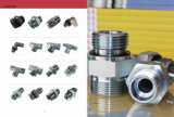 1b Bsp Male 60 Degree Straight Tube Fitting Hydraulic Adapter