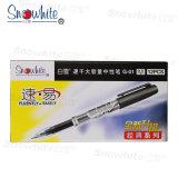 Logotipo personalizado un bolígrafo de plástico G01 con Super Tank Refiller escrito más de 12.000 m
