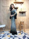 На прошлой неделе мая дамы женщин валика клея вечер длинными рукавами платье Ппзу Openboot