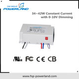 34 ~ 42W conducteur courant constant LED avec 0-10V Dimming