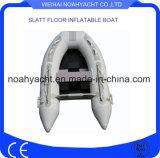 Peschereccio della barca gonfiabile del camuffamento con il pavimento della stecca