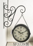 Домашние часы стены металла движения часов кварца стены украшения