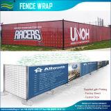 Impresa duradera impresión personalizada de envoltura de cerco de malla (T-NF36F07005)