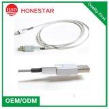 Cable del relámpago al cable del USB Digital para las líneas de datos del cargador de la cubierta del metal del iPhone para iPhone5 6 7 y alambre del USB del iPod del iPad