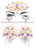 Star enfrentam uma tatuagem temporária da Gems Jóia Diamante Bindi Fusion Eye autocolante (J13)