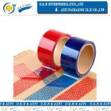De plakband van de Veiligheid van de blauwe of Rode Kleur voor het Verzegelen van het Karton