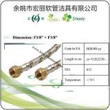 Tubo flessibile di gomma flessibile Braided del gas dell'acciaio inossidabile