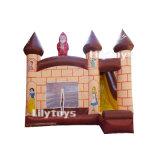 O Castelo de Selva Combo inflável com Mini-deslize para crianças