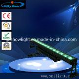 Etanche 14pcs 30W COB RVB 3dans1 LED Bar mural étape lumière