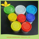L'Urine tasse tasse /Tabouret avec couvercle coloré