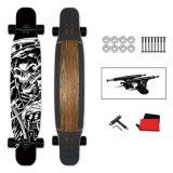 Skateboard 117.0 cm * 24.0 cm * 3.0 cm lang Bord met Canadese esdoorn en bamboe