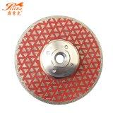 Electroplated Diamond 200mm de lâmina de serra circular para corte de concreto