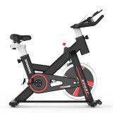Fitness domésticos de alta calidad correa de arrastre usados Semi-Commercial Ultra-Silence 8-13kg spin bike ejercicio girando el volante moto