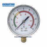 Connexion arrière Thermo-Manometer manomètre de pression de la température