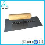 炭素鋼の木製のハンドルの正方形の塗るこて