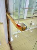 Tela dourada luxuosa nova do quarto de chuveiro do estilo do aço inoxidável do projeto 304