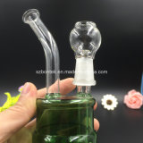 Plataformas petrolíferas de vidro da cor do espaço livre da tubulação do projeto do cilindro de petróleo tubulação de água de vidro das mini