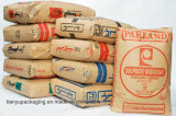 구획 시멘트를 위한 밑바닥 Kraft 종이 봉지