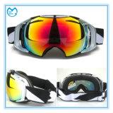 La protection UV professionnelle polarisée folâtre des lunettes de Snowboard en verre