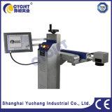 Он-лайн машина маркировки лазера трубы PVC