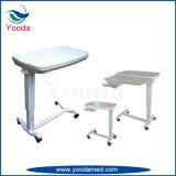 Медицинско и стационары над таблицей кровати с стойкой нержавеющей стали