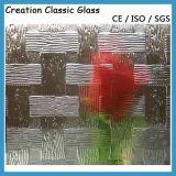 4-12mm 산에 의하여 식각되는 장식무늬가 든 유리 제품 및 서리로 덥은 예술 유리 (4-12mm)