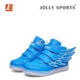 Обувной моды светодиодный индикатор зарядки спортивной обуви для мальчиков Для девочек Детские