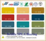 Suelo ULTRAVIOLETA Wear-Resistant y del Anti-Punto de la resistencia de Polyurea con alta ductilidad