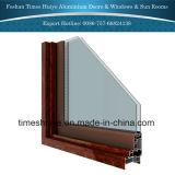 Portello di vetro di alluminio di nuovo modo