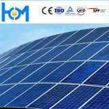 Vetro di vetro temperato solare del modulo di PV del Basso-Ferro Tempered dello strato