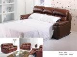 Modernes ledernes Sofa-Bett 586#