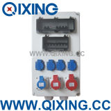 Power di plastica Comnination Socket Box per Customer Make (QCSM-00-QCSM-05))