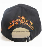 Поставка фабрики подгоняла вышитый логосом шлем бейсбола спортов хлопка выдвиженческий