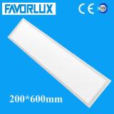 Luz de painel especial do diodo emissor de luz do tamanho 200*600 com alta qualidade