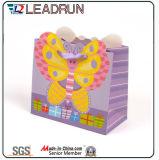 Graue Offsetpapier-Pappkunst-überzogener Handpapier-gewölbtes Papier-kundenspezifischer Papierverpackungs-Beutel (F94)