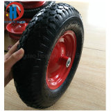 Wheel Barrow Tire Roda de borracha pneumática