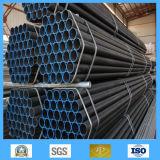 De zwarte Pijpen van de Koolstof van het Staal Naadloze Sch40 ASTM A106